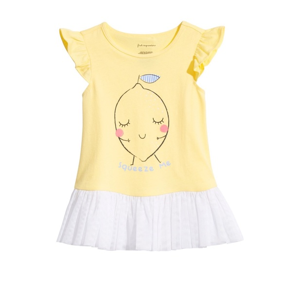 First Impressions Other - NWT First Impressions Yellow Summer Shirt Top 12mo
